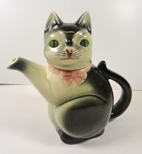 Erphilia German Kitty Cat Tea Pot