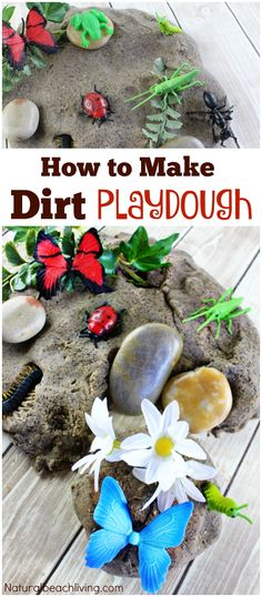 Dirt Inspired Coffee Ground Play Dough Kids Love, Mud sensory play, Insect activity, Make Coffee playdough, Soft Homemade Cooked Playdough, The Best Dough