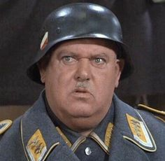 """Sgt. Schultz played by John Banner in Hogan's Heroes, """"I know nothing."""""""