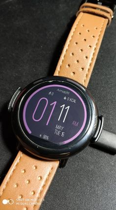 This is the first APK WatchFace with settings! Compatible with both Pace and Stratos (all versions). Source: [APP/WATCHFACE] GreatFit with settings – Pace/Stratos Wearable Device, Smart Watch, App, Smartwatch, Apps
