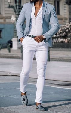visit our website for the latest men's fashion trends products and tips . Blazer Outfits Men, Mens Fashion Blazer, Suit Fashion, Mens Blazer Styles, Mens Casual Suits, Stylish Mens Outfits, Casual Outfits, Blazers For Men Casual, Formal Men Outfit