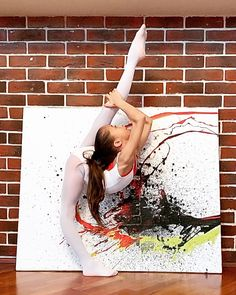 Flexibility, Dancer, Polaroid Film, Training, Children, Red, Instagram, Young Children, Boys