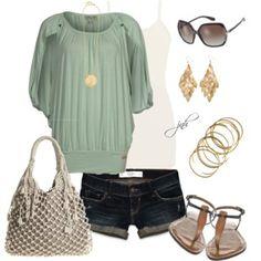 Summer Shorts - Polyvore