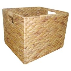 Target Home Large Milk Crate Water Hyacinth.Opens in a new window
