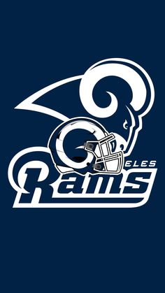 Los Angeles Rams (Various Logo's) Nfl Football Helmets, Football Team Logos, Sports Team Logos, Sports Teams, Nfl Rams, Ram Wallpaper, Nfc West, Nfl Patriots, Nfl Los Angeles