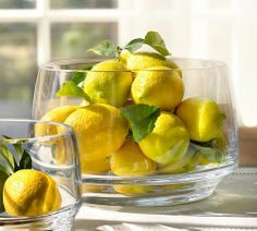 lemons displayed