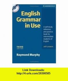 English grammar in use with answers and cd rom 9780521189392 english grammar in use with answers and cd rom 3th third edition text only fandeluxe Image collections