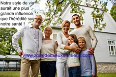 Picture of family, happiness, generation, home and people concept - happy family standing in front of house outdoors stock photo, images and stock photography.
