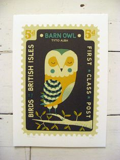 theboyfrost — Large Owl Stamp