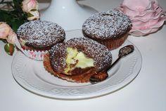 O kuchni z uczuciem : Babeczki czekoladowe z budyniem Nutella, Breakfast, Food, Cake, Hoods, Meals