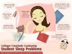 Colleges Creatively Combating Student Sleep Problems