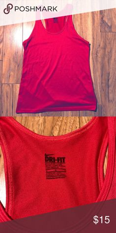 fcdedbe197081 Nike Dri-Fit Tank Top Excellent condition Nike dri-fit tank top! Detail