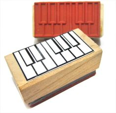 Piano Fingering and Music Theory Rubber Stamp -    A great teacher and student aid.  (Keyboard, Musician, Music, Woodwind). $7.99, via Etsy.