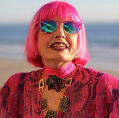 """""""Personality and Jewelry will conquer everything."""" Zandra Rhodes   Design the life you love, DO what makes you happy  #ZandraRhodes #WomanWhoInspire #BeLegendary"""