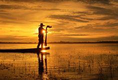 Fisherman ~ Thailand by Saravut Whanset on 500px