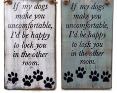 wood dog sign family rustic wood sign love by