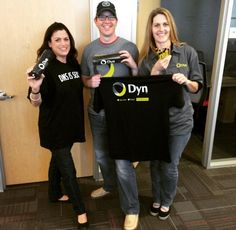 Thanks @Dyn for hooking us up with this hot gear!! #partners #swag #partnership #Dynswag
