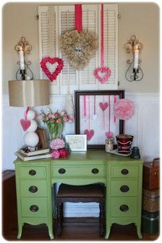 Valentines Decor DIY by kelli