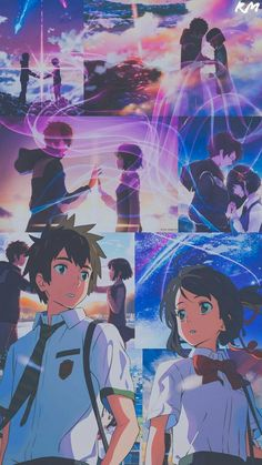 your name wallpaper aesthetic - your name Your Name Wallpaper, Cute Anime Wallpaper, Anime Backgrounds Wallpapers, Animes Wallpapers, Kimi No Wa Na, Otaku Anime, Anime Art, Mitsuha And Taki, Kimi No Na Wa Wallpaper
