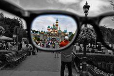 Beautiful take on Disneyland Castle. Disney World's castle is my favorite but I'm biased. I live here.
