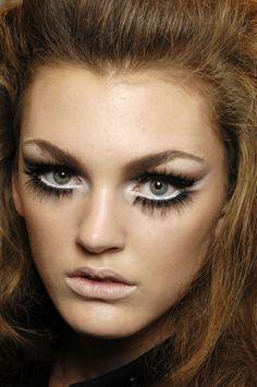 Trucco da provare. Dior, A/I 2008. * Make-up to try on. Dior, F/W 2008.