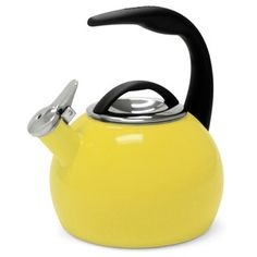 Shop for Chantal 40th Anniversary 2-quart Enamel on Steel Canary Yellow Tea Kettle. Free Shipping on orders over $45 at Overstock.com - Your Online Kitchen