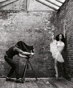 with ballerina