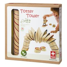 TOTTER TOWER | Hape Wooden Blocks For Kids | UncommonGoods - got these on eBay and everyone love playing with them.