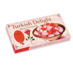 Turkish Delight by Koska - Rose Flavored Turkish Sweets, Turkish Coffee, Cofee Machine, Box Roses, Turkish Delight, Turkish Recipes, Crafts, Packaging, Button
