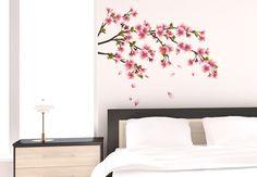 Wandtattoo Kirschblütenzweig - Romantik-Look für Ihr Zuhause | wall-art.de