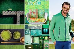 Mood of the day: on the green. Green golf outfit by Chervò!