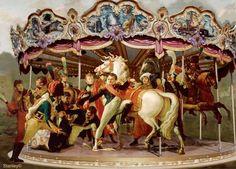 Stanley Gonczanski, Carrousel on ArtStack #stanley-gonczanski #art