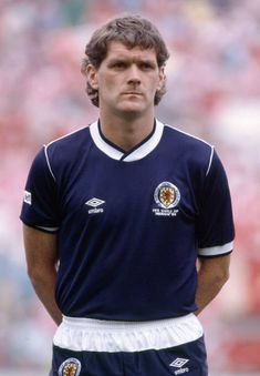 Roy Aitken lines up for Scotland before the FIFA World Cup match between Scotland and Denmark at the Estadio Neza in Nezahualcoyotl June World Cup Match, Celtic Fc, Association Football, International Football, Soccer World, Fifa World Cup, Football Players, Lineup, Scotland