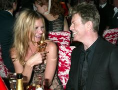 kate moss with david bowie