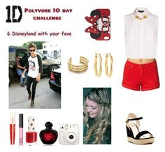 """""""Day 6 ~ Disneyland with Harry"""" by ebiloveyou ❤ liked on Polyvore"""