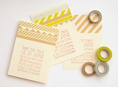 Oh So Beautiful Paper: DIY Tutorial: Love Letter Dinner Party Placecards
