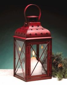 Such is the lamp light handheld by St. Pierced stars allow the candlelight to scatter upon your wall. Lantern String Lights, Metal Lanterns, Candle Lanterns, Candles, Victorian Lighting, Victorian Lamps, Christmas Candle Holders, Lantern Candle Holders, Festival Decorations