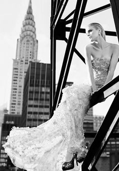 Kai Z Feng is behind the lens to capture the always beautiful Jessica Stam for the Ellassay.