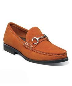 Florsheim Orange Tuscany Bit Suede Loafer by Florsheim #zulily #zulilyfinds