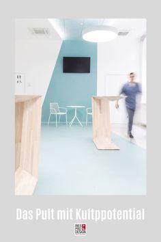 C3 - Das Pult mit Kultpotential. Stehtisch für moderne Einrichtung und vielfältigen Einsatz im Büro, auf der Messe, zuhause oder auf der Bühne. Stehpult aus Glasfaserverstärktem Kunststoff gefertigt. Auch für Draußen geeignet. Info unter +43 699 15990977 #stehtisch, #stehpult, #RiesProDesign Designer, Bed, Furniture, Home Decor, Linz, Stand Up Desk, Pedestal Desk, Decorative Lighting, Modern Interiors