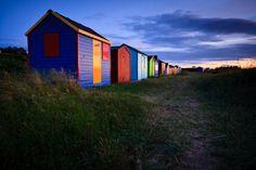 Hopeman Beach Huts, by Scotland through Light