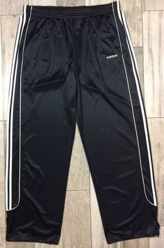 e39cdc0d10d6 Adidas Track Pants Mens Big   Tall Size 4XT Black Polyester Draw Strings  42x36  fashion  clothing  shoes  accessories  mensclothing  activewear  (ebay link)