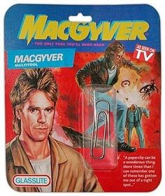 The MacGyver multitool. It's not your normal multitool. - yay for MacGyver Macgyver Tv, Angus Macgyver, Humour Geek, Back In The 90s, Bulletins, See On Tv, Gi Joe, Paper Clip, Akira