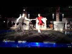 James and Danielle Tranky Doo and Lindy Hop