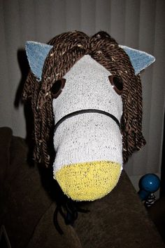 Make your own stick horse. AWESOME!