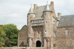 Chateau de Trecesson - Morbihan, Bretagne - a closer view