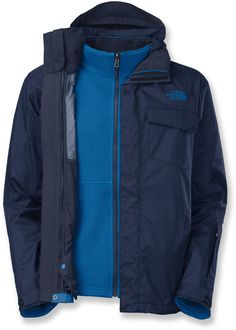 c3fbe46acea1 The North Face Clooney Triclimate 3-in-1 Jacket - Men s 3 In 1