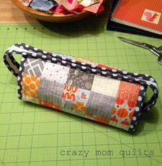 crazy mom quilts: sew together bag