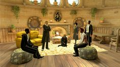 Playstation Home: Pottermore Hufflepuff Common Room - YouTube ...
