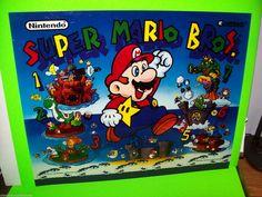 Super Mario Bros by Gottlieb 1992 Original Pinball Machine Translite Artwork | eBay